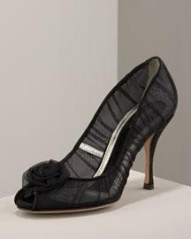 Dolce & Gabbana's Rosette Pump :  vamp italy dolce gabbana heels