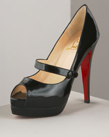 Christian Louboutin Mary Jane Platform -  Open Toe -  Bergdorf Goodman from bergdorfgoodman.com