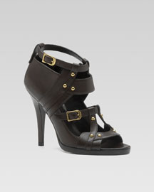 Marion Studded Sandal -  Fall Collection -  Bergdorf Goodman