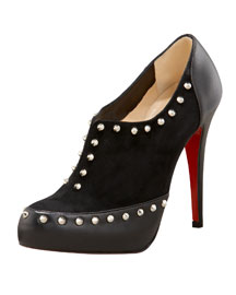 Christian Louboutin Astraqueen Studded Bootie -  Fashion Collection -  Bergdorf Goodman  :  booties christian louboutin