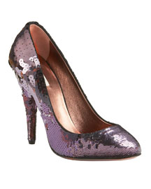 Miu Miu Sequin Pump