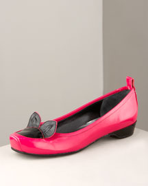 MARC by Marc Jacobs Foxy Ballerina -  Shoes -  Bergdorf Goodman :  celebrities ballerina fall shoes