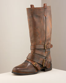 Joie Biker Boot -  Shoes & Handbags -  Bergdorf Goodman :  biker boot booties new glamour