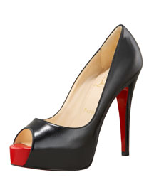 Christian Louboutin Platform Pump -  Resort Collection -  Bergdorf Goodman :  celebrity fashion incircle sandals heels