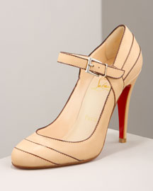 Christian Louboutin            Mary Jane Pump -   		Resort Collection - 	Bergdorf Goodman :  shoes pumps mary janes heels