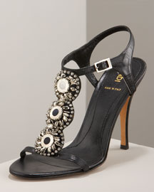 Fendi Jeweled Sandal -  Shoes -  Bergdorf Goodman