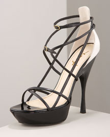 Yves Saint Laurent Lola Platform -  Shoes -  Bergdorf Goodman from bergdorfgoodman.com