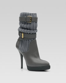 LOCKHART BUCKEL ANKLE BOOT -                                 Bergdorf Goodman