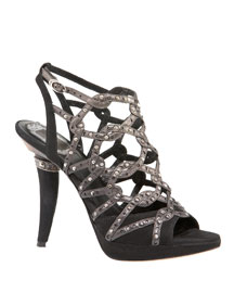 Dior-Cartagena Sandal :  high heel designer cartagena dior