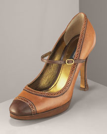 Bergdorf Goodman - Platform Mary Jane : mary janes leather dolce and