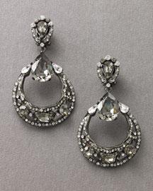 Jose & Maria Barrera Crystal Earrings- Dangle- Bergdorf Goodman