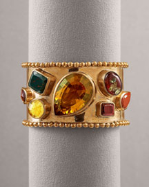 Stephen Dweck Multi-Stone Cuff Bracelet -  Bracelets -  Bergdorf Goodman :  fashion accessory design fashion accessories designer