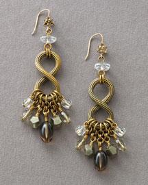 Stephen Dweck Figure-Eight Drop Earrings- Dangle- Bergdorf Goodman