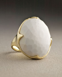 Ippolita            Agate Crown Ring -   		Rings - 	Bergdorf Goodman :  18k rings jewelry organic