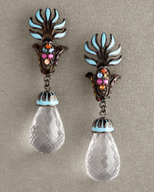 Matthew Campbell Laurenza Enamel Drop Earrings -  MCL by Matthew Campbell Laurenza -  Bergdorf Goodman