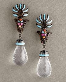 Matthew Campbell Laurenza Enamel Drop Earrings- New Arrivals- Bergdorf Goodman