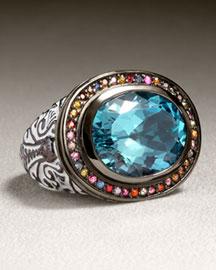 Enameled Ring- New Arrivals- Bergdorf Goodman