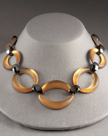 Alexis Bittar Sculpted Link Necklace -  New Arrivals -  Bergdorf Goodman