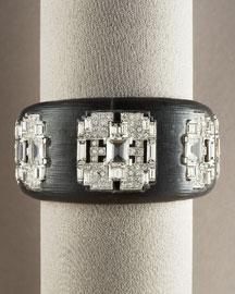 Alexis Bittar Deco Hinge Bracelet, Black- Glam Rocker- Bergdorf Goodman :  deco hinge bracelet black bergdorf goodman glam goodman