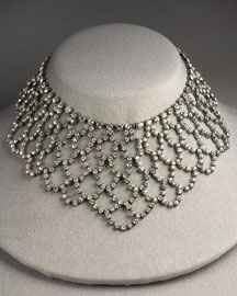 Kenneth Jay Lane Bib Necklace -  Necklaces -  Bergdorf Goodman :  swarovski jewellery elle bib necklace