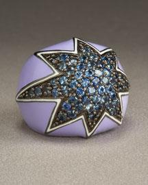 Sapphire Star Ring- Bergdorf Goodman from bergdorfgoodman.com