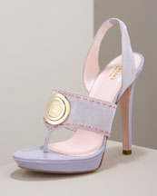 Bergdorf Goodman - Shoe Salon - Platforms :  versace shoes