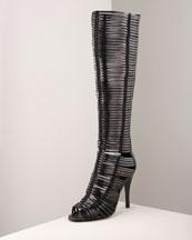 Huarache Boot- Bergdorf Goodman :  boot huarache bergdorf goodman strappy