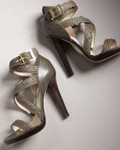 Crisscross Platform Sandal- Bergdorf Goodman :  platform jimmy choo designer italy