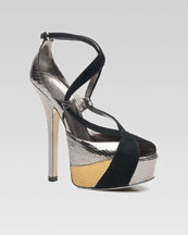 Bergdorf Goodman - Jewelry & Accessories - Spring Trends - Bold Accessories :  chic heels sandals bergdorf