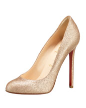 Bergdorf Goodman - Shoe Salon - Shoes - Christian Louboutin :  high heel christian laboutin bergdorf goodman nude