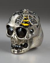 Alexander McQueen Ring :  alexander mcqueen bergdorf goodman jewelry ring