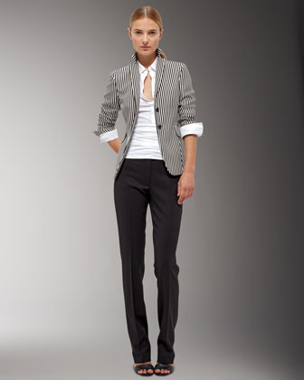 Akris Punto Straight-leg Pants