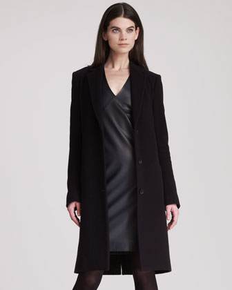 Wool Cashmere Long Coat