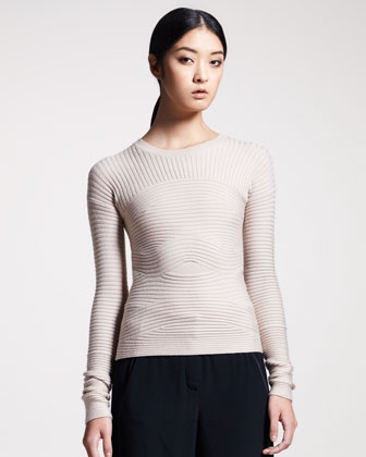 Bandage-Knit Sweater
