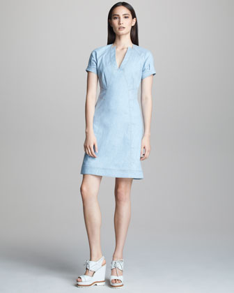 A-line Denim Dress