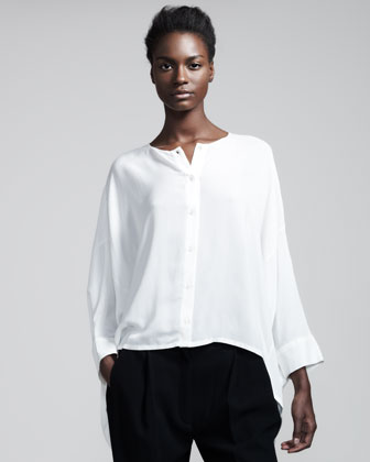 The Row Trapeze Blouse