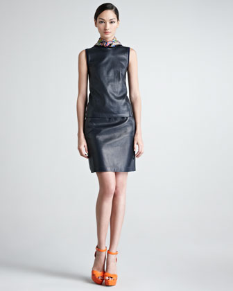 Cassy Leather Skirt