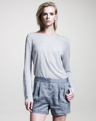 Women's T By Alexander Wang Pleated Linen
