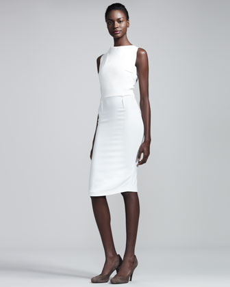 Rocklea Stretch-Crepe Dress