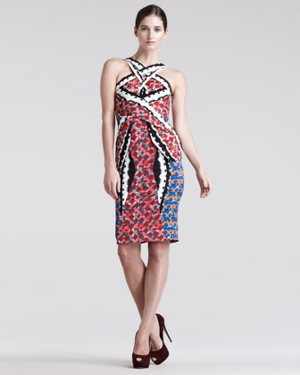 LF Mixed Digital Printed Dress