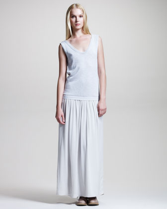 Brunello Cucinelli Sleeveless Knit Combo