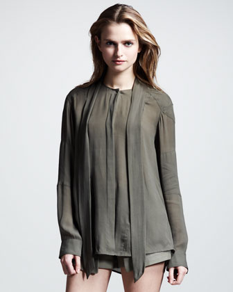 Hammond Soft Tie Voile Shirt