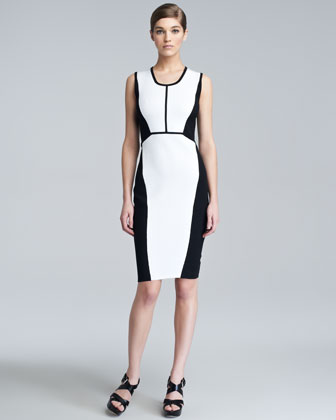 Contour Colorblock Knit Dress