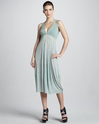 Donna Karan Foundation Dress, Jade