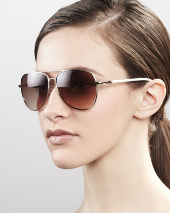 Aviator Sunglasses, Golden