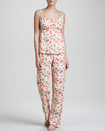 Bedhead Strawberry-print Camisole Pajamas