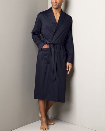 Men's Hanro Plaza Knit Robe