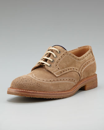 Men's Brunello Cucinelli Crepe-sole Suede