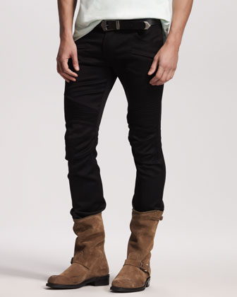 Men's Balmain Biker Pants