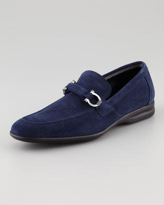 Tangeri Suede Loafer, Royal